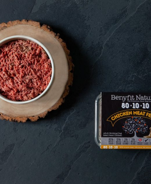 Benyfit Natural Chicken Meat Feast 80*10*10 complete 500G