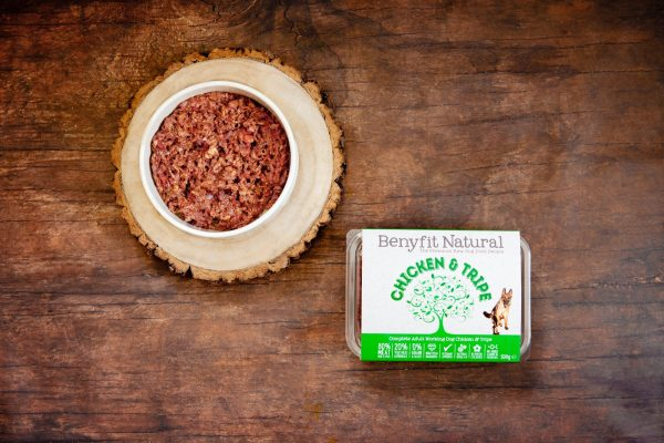 Benyfit Natural Chicken and Tripe 500g