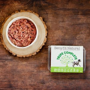 Benyfit Natural Complete Tripe raw dog food 500g