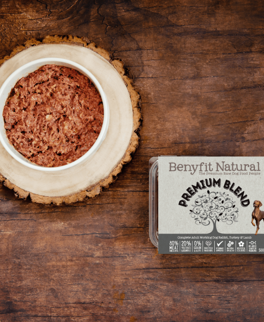 Benyfit Premium Blend Frozen Raw dog Food