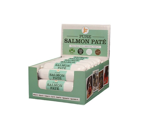 jr pure salmon pate