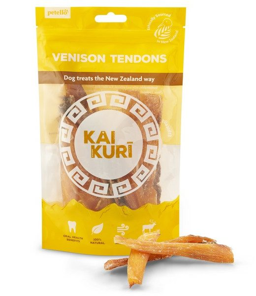 kai kuri air dried venison tendons dog treat